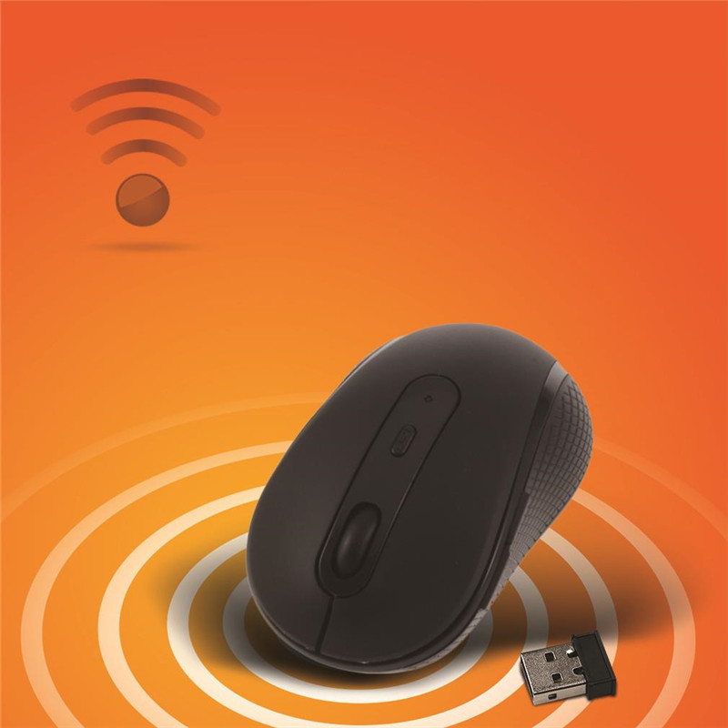 Portable Universal Wireless Gaming Mouse Mice 1000-1600 DPI Optical USB Wireless 2.4GHz Mouse for Computer Laptop Notebook PC