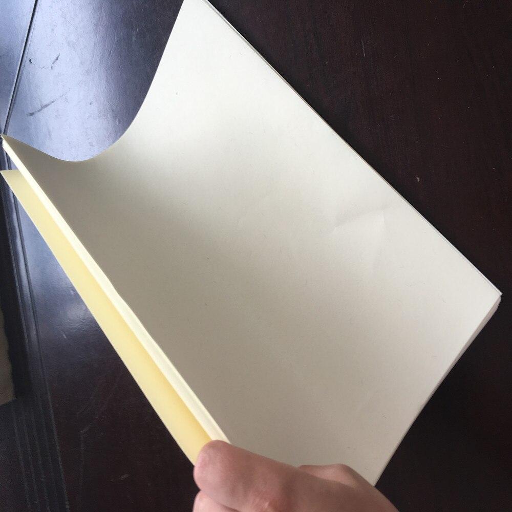 50 pcs, 85g cotton&linen paper, A4 paper, ivory color bond copy paper