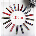 20MM Popular Fashion Nylon Watchband Steel Buckle Detachable Straps For Watch Band Multicolor for Choose Reljoies Band for Hours
