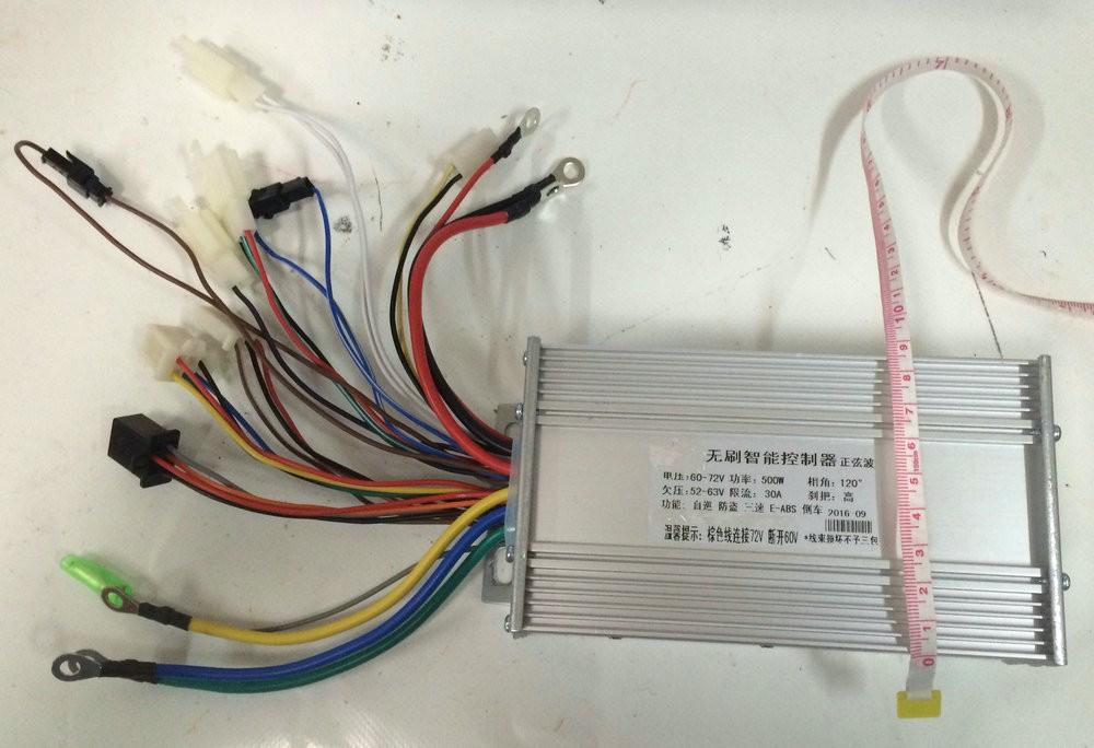 72v 500w sinewave controller 12mosfet (3)