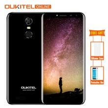 Oukitel C8 3G 5.5 Inç 18:9 Ekran 3000 mAh Android 7.0 MT6580A Dört Çekirdekli Smartphone 2 GB RAM 16 GB ROM 13MP Parmak Izi Cep ...