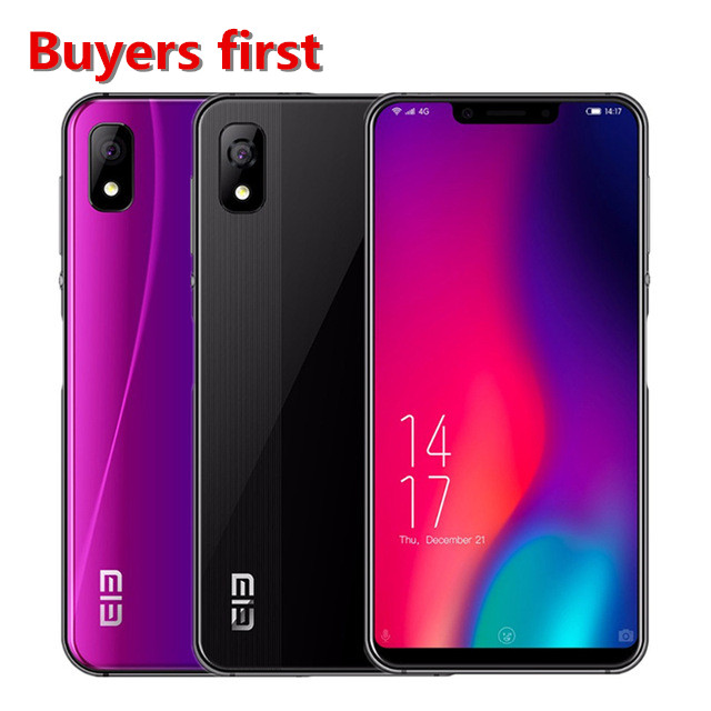 "2018 Original Elephone A4 Pro cellphone MT6763 Octa Core 5.85"" Android 8.1 Smartphone 4GB RAM 64GB ROM 16MP 4G LTE Mobile Phone"