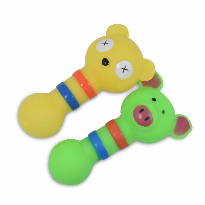 Moda de Borracha Brinquedos Do Cão Forma de Pequenos Animais Cães Treinam Seus Molares Morder A Fazer UM Som Brinquedos Para Animais de Estimação Pet Fornecimentos brinquedo da Mastigação do cão
