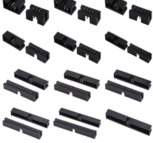 Reliable 10PCS 2x5 10Pin 2.54mm Double Row Female Header Pitch Socket Pin TO
