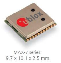 MAX-7W U-BLOX 100% New&Original Genuine Stock  distributor Low power consumption  gps module multi-GNSS Emax Free Ship