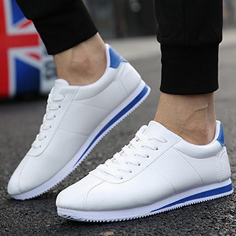 Men Sports Shoes Outdoor Leather Luxury Brand New Designer