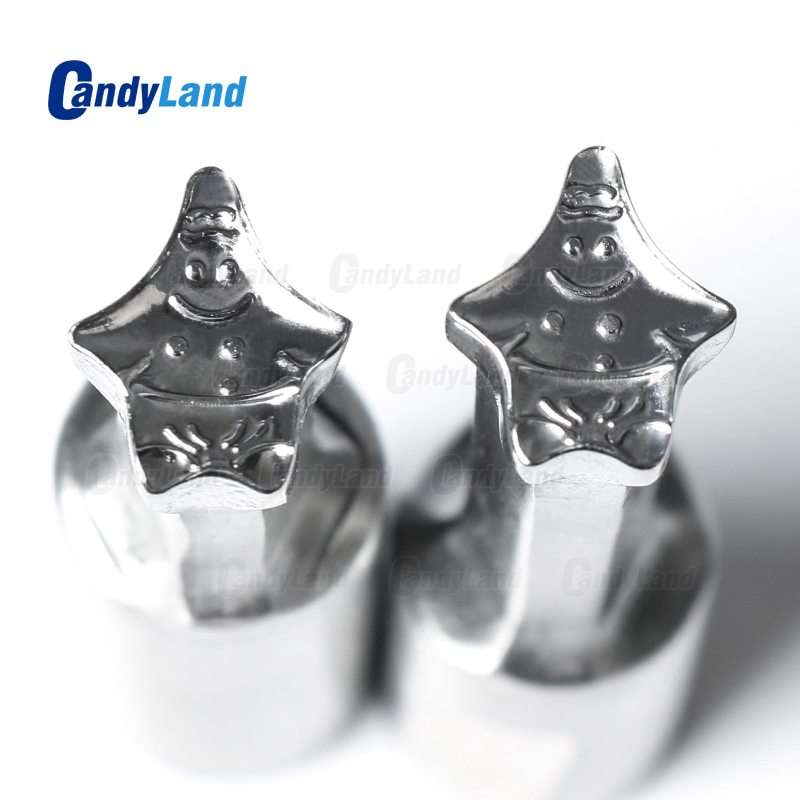 CandyLand Patrick Milk Tablet Die 3D Pill Press Mold Candy Punching Die Custom Logo Calcium Tablet
