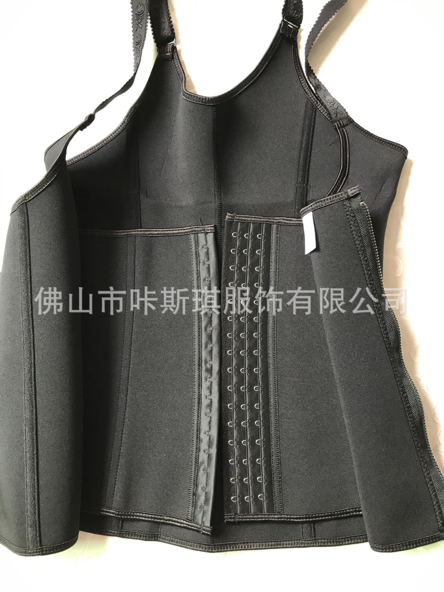 Neoprene Zipper Vest Ultra Time Sports Fitness Exercise Extreme Sweat Lady Of Corsets in Slimming Product from Beauty Health