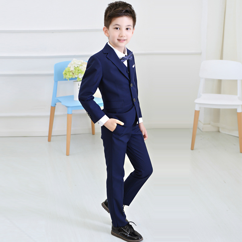 Boys suits weddings Kids Prom Suits Black Wedding Suits for Boys ...