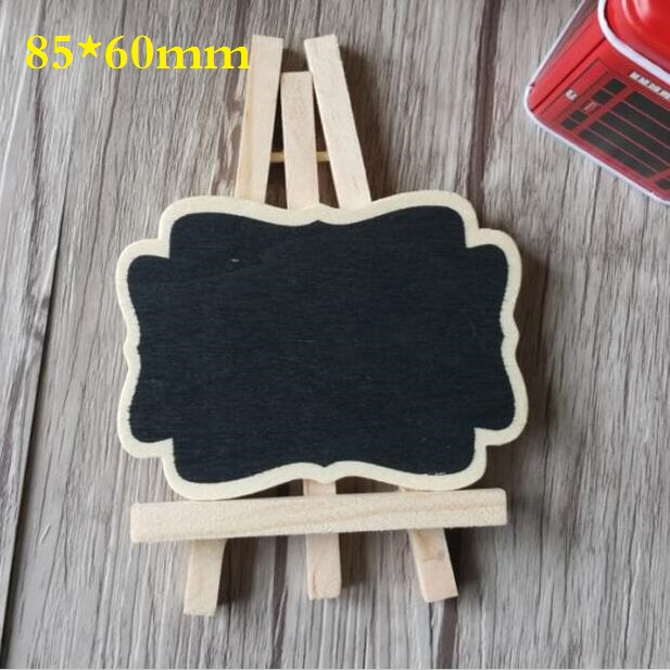 Responsible Mini Wooden Message Blackboard Small Black Board Chalkboard Kawaii Brand New Wedding Party Decor Blackboard