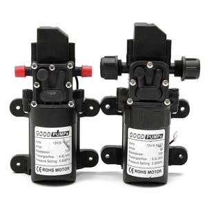 Image 1 - קטן בטוח עצמי תחול משאבת DC12V 70W 130PSI 6L/Min גבוהה יציב לחץ סרעפת מים משאבת 2 סגנונות
