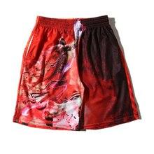 Men's Short Hot 2017 Fashion Summer Men Short Hip Hop 3D Print Jordan Casual Mesh Shorts Brand Clothing M-XXL