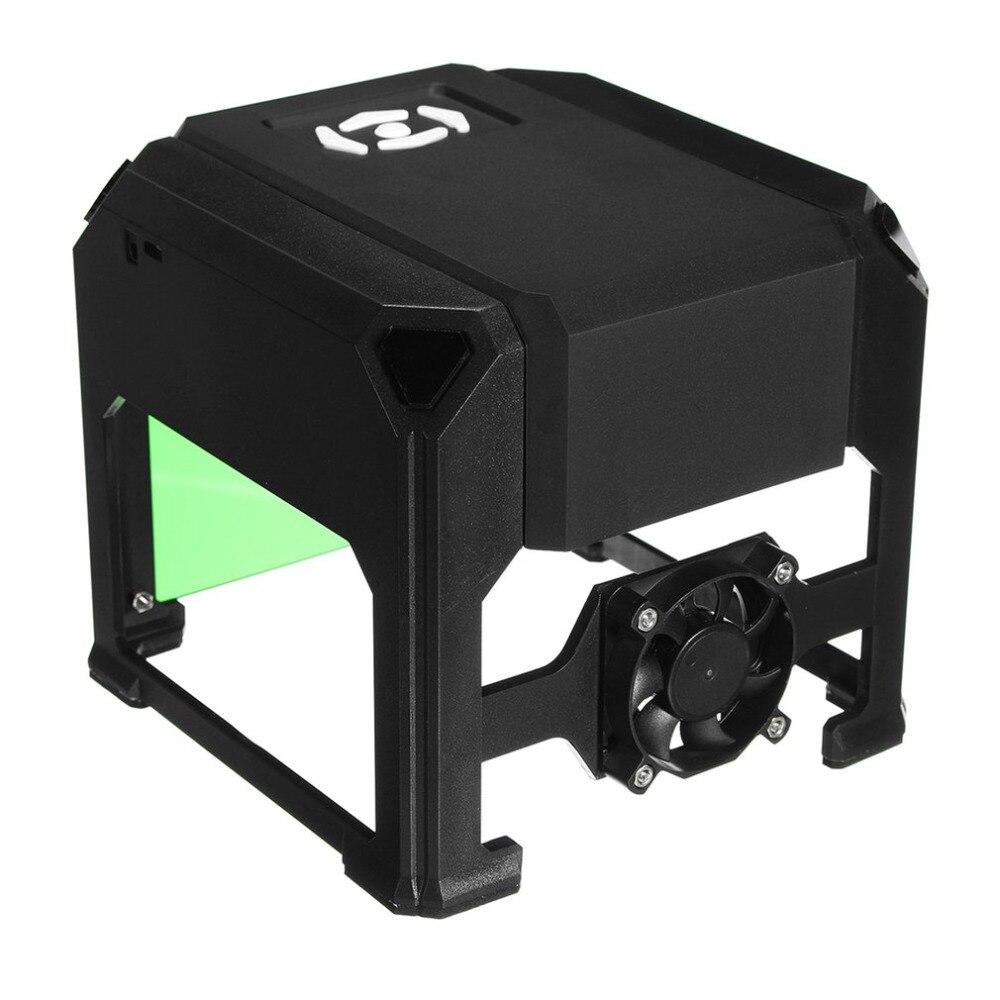 Laser Carving Machine 1500mW USB Laser Engraver DIY Logo Mark Printer Cutter Carver Engraving Home Use