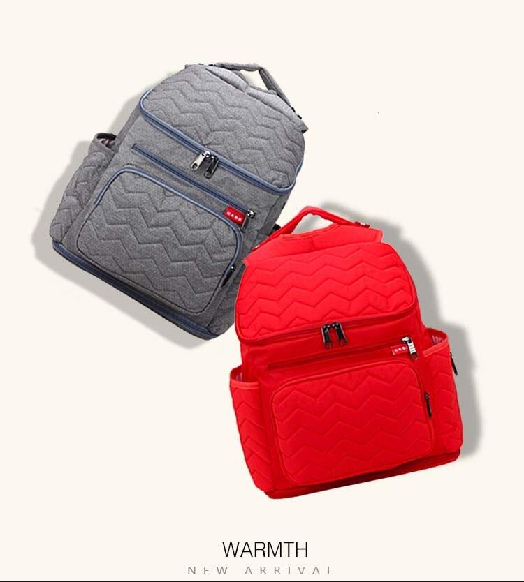 2018 nouveaux sacs à langer multifonctionnels de maternité pour maman femmes sacs à dos élégant bébé couches sacs à dos sacs Nappy poussette sac