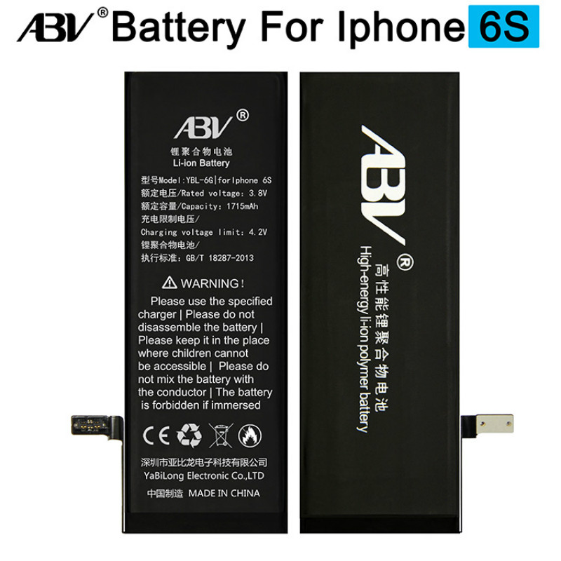 ABV Battery iPhone 6s Bateria Original Ce for Replacement with Free-Repairing-Tools Brand