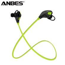 ANBES Esporte Fone De Ouvido Bluetooth Estéreo Fones de Ouvido fone de Ouvido Super Bass Fones De Ouvido fone de Ouvido Sem Fio Com Microfone Para IPhone Samsung LG