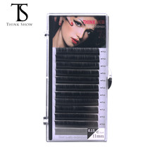 NEWCOME BCD Curl 0.05 0.07 0.10 0.20 Eyelash Extension Lashes Natural False Mink Eyelashes Individual Eyelash Extension 8-15mm