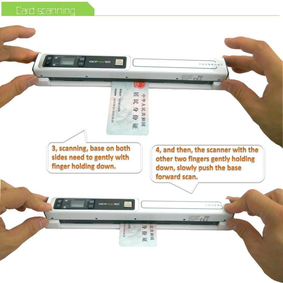 senniao portable scanner base Z01 (10)