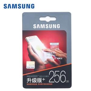 Image 5 - SAMSUNG Original New 256GB U3 Micro SD Memory Card Class10 TF/SD Cards C10 R95MB/S MicroSDXC UHS 1 U3 EVO+ EVO Plus Support 4K
