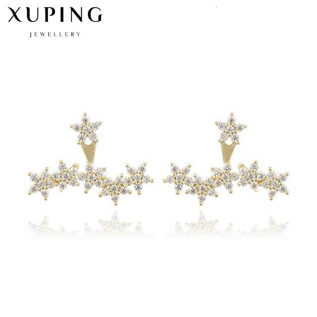 566294238a10 Manera milky way multi estrella stud pendientes cluster pendiente del color  del oro de las mujeres