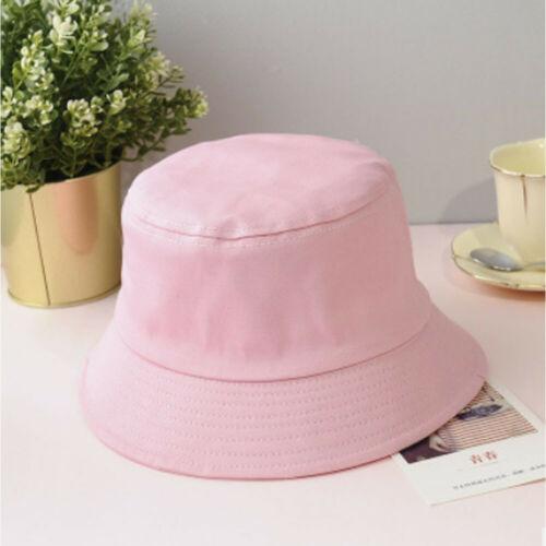 Unisex Summer Foldable Bucket Hat Women Outdoor Sunscreen Cotton Fishing Hunting Cap Men Basin Chapeau Sun Prevent Hats in Men 39 s Bucket Hats from Apparel Accessories