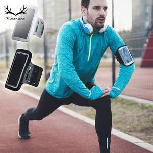Black Armband Waterproof Gym Sports Running For iphone Xs Max XR X 8 7 4 4s 5 5s 5c SE 6 6s plus Arm Band Phone Hand Bag Case