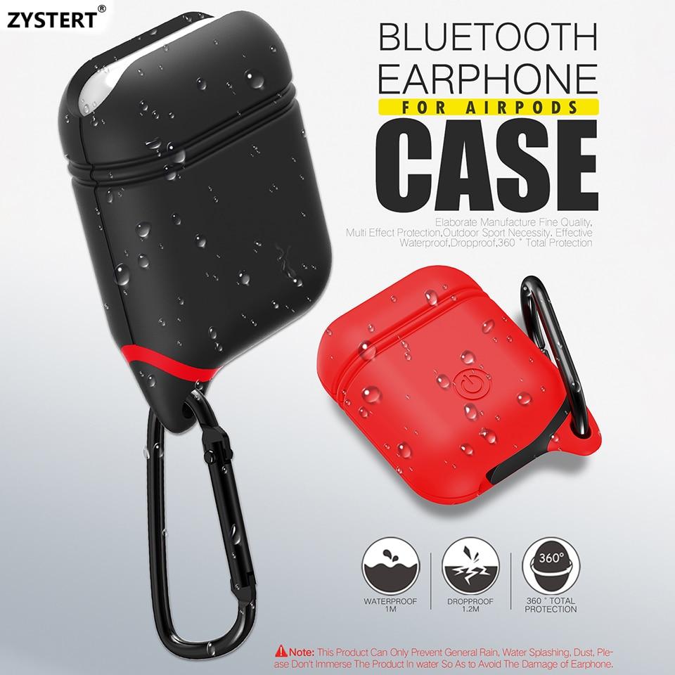 Zystert funda para Apple airpods cargador Soft funda de silicona ...