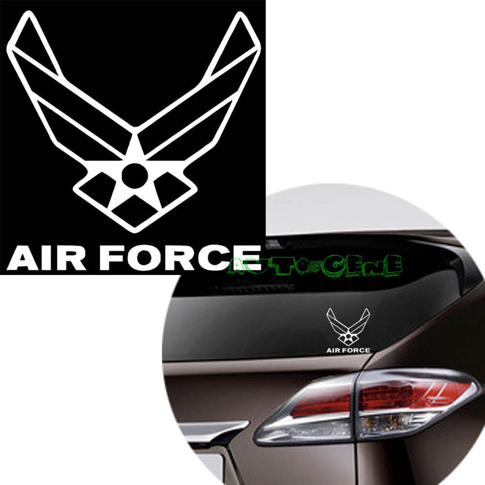 Car sticker design jb -  1 United States Us Air Force Usaf Logo Vinyl Decal Car Window Bumper Sticker