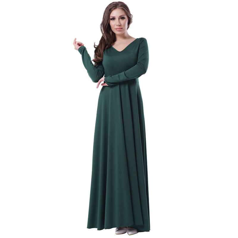 8da143db1bf RH70343 Emerald belted dress woman popular design elegant style long sleeve  plus size dresses ohyeah brand · Maxi ...