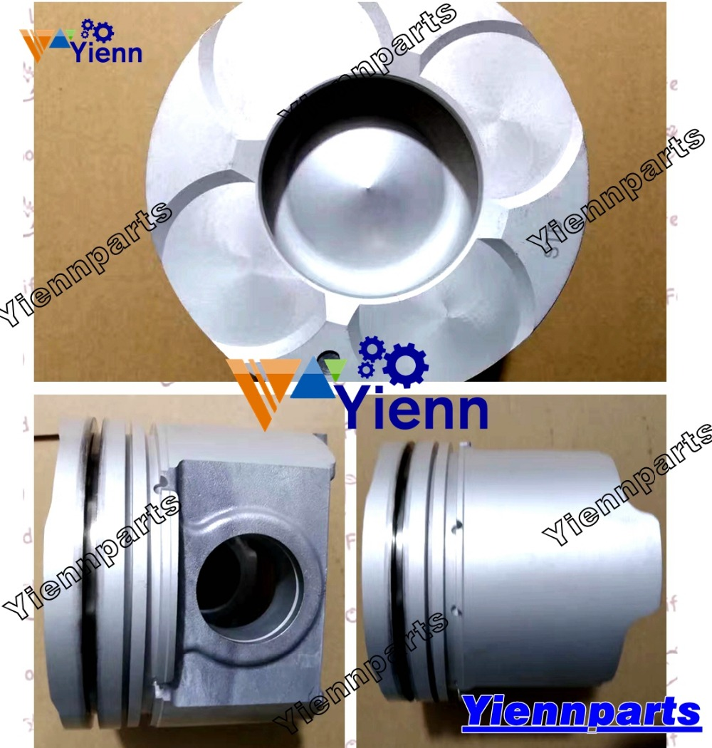 US $770 0 |4M51 piston cylinder liner kit For Mitsubishi diesel engine  spare parts ME241686 ME241688 118mm-in Pistons, Rings, Rods & Parts from
