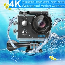 Original Action camera EKEN H9 / H9R remote Ultra HD 4K 1080P/60fps go waterproof camera WiFi 2.0 LCD 170D Lens Pro Sport Camera