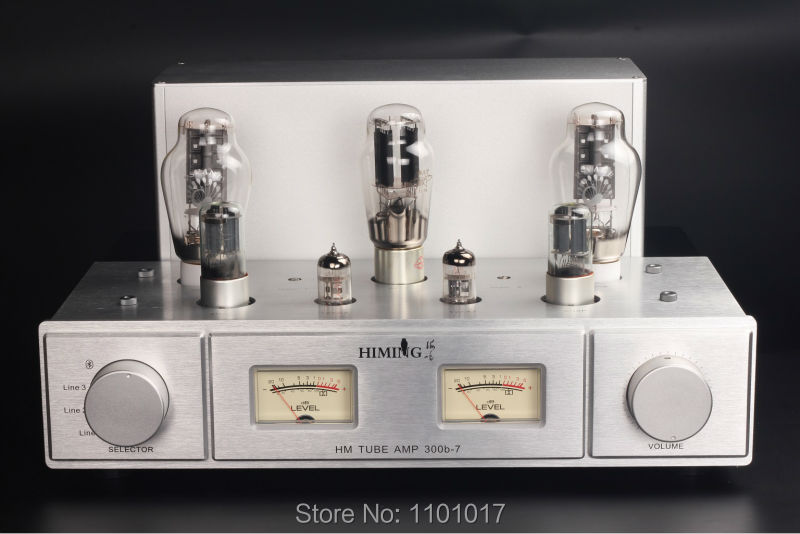 Himing RIVALS latest 300B 7 300B tube amplifier HIFI EXQUIS 2 levels drivers handmand scaffolding top component lamp amp