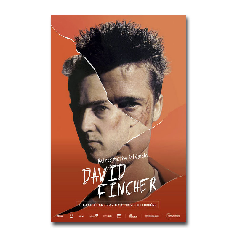 Fight Club Brad Pitt Art Print Classic Movie 13x20 inch