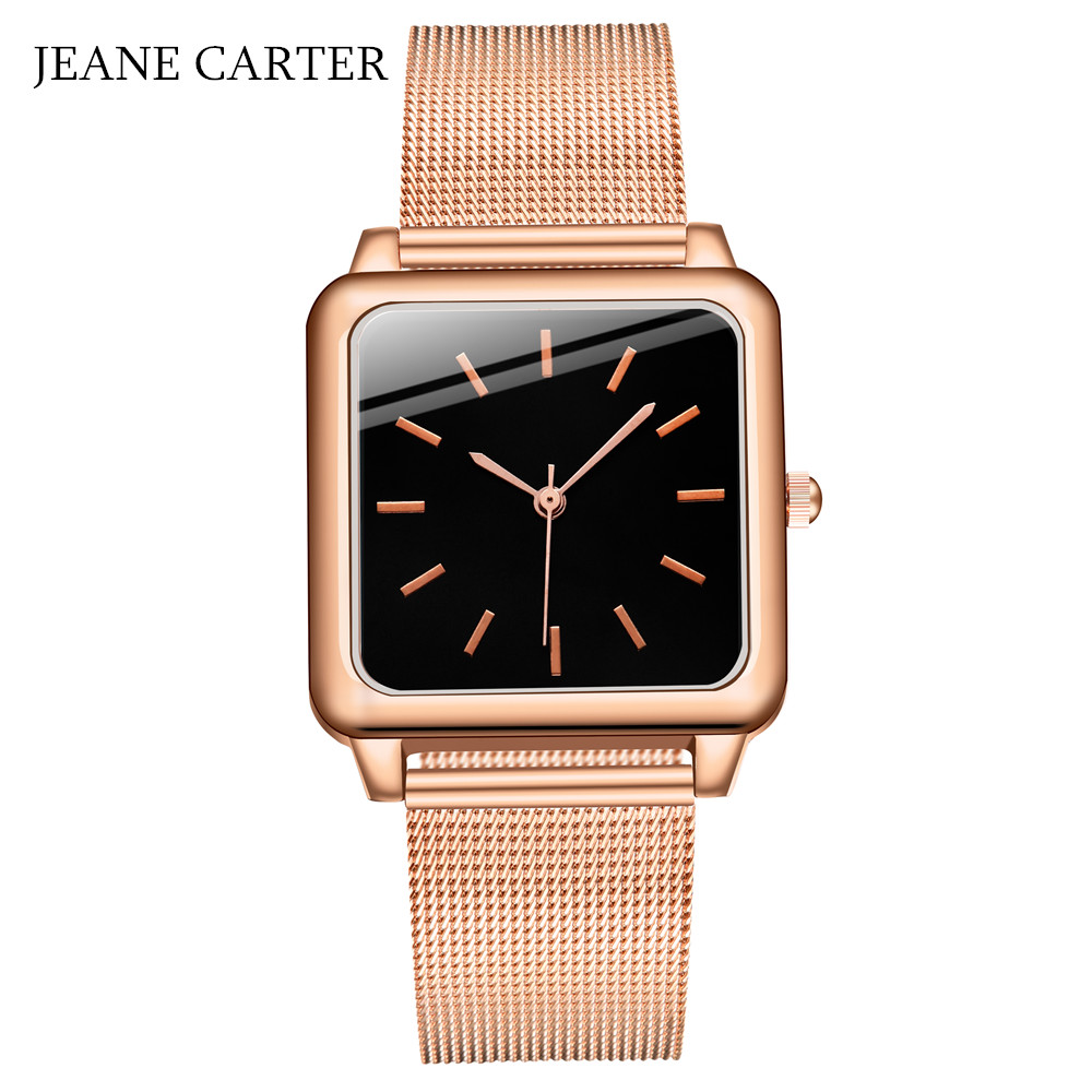Top Brand Square Women Bracelet Watch Contracted WristWatches Women Dress Ladies Quartz Clock Zegarek Damski Dropshiping