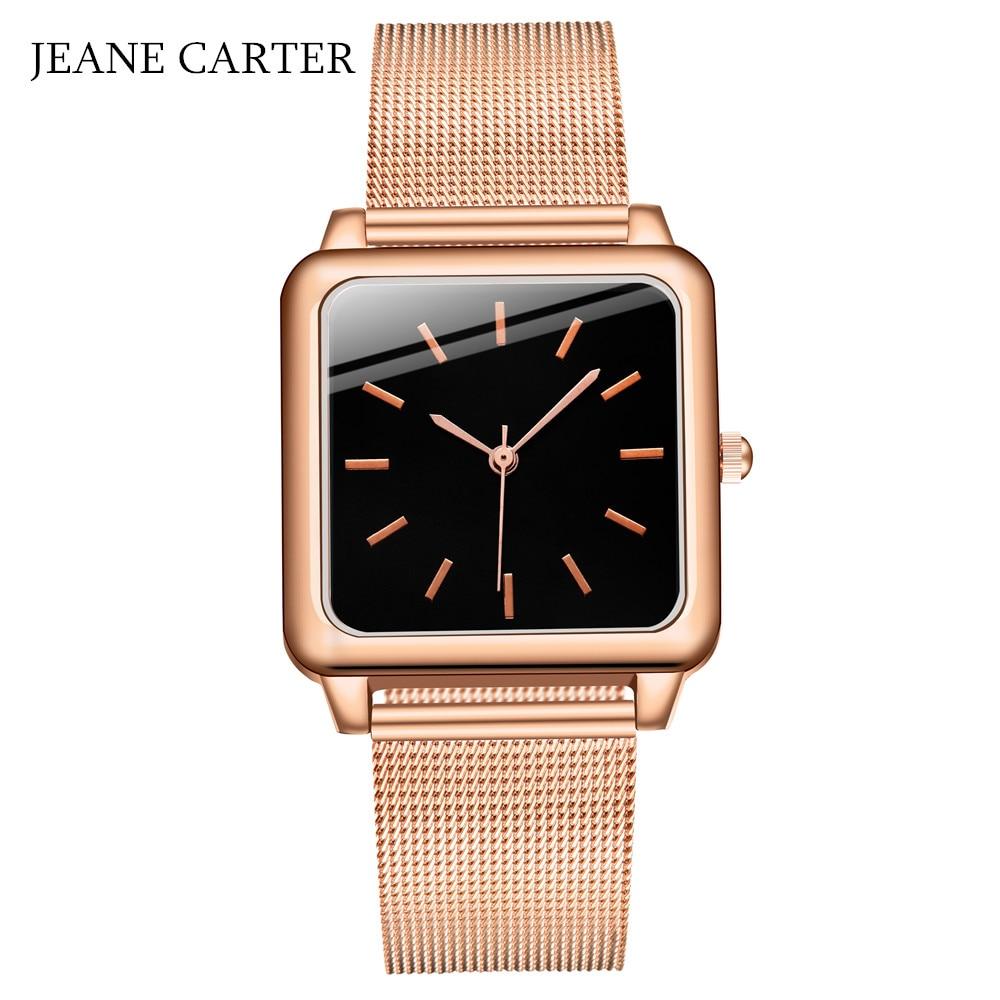Top Brand Square Women Bracelet Watch Contracted WristWatches Women Dress Ladies Quartz Clock Zegarek Damski Dropshiping