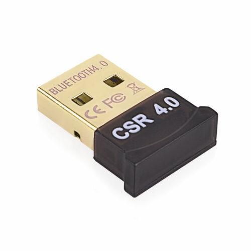 New Arrival Wireless USB Bluetooth V 4.0 CSR Mini Dongle Adapter For Win 7 8 10 PC MAC Laptop 2