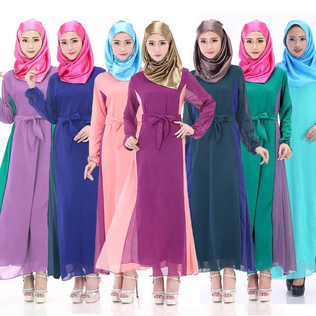 Caftan Top Fashion 2017 Adulto Novo Venda Turco Abaya Muçulmanos Vestes Árabes Do Médio Oriente Roupas As Mulheres Se Vestem Vestidos AW7538