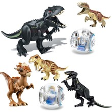 79151 77001 Jurassic World 2 Dinosaur Tyrannosaurus Building Blocks Dinosaur Action Figure Bricks Legoings Dinosaur Toys Gift 79151 77001 jurassic world 2 dinosaur tyrannosaurus building blocks dinosaur action figure bricks legoings dinosaur toys gift