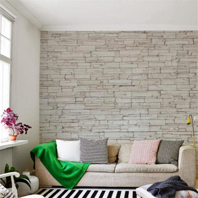 Blanc Carrelage En Pierre Texture Brique Mur De Pierre Papier Papier