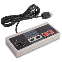 For Nintend Nes Classic Mini Wii Game Console Controller Abs Gamepad Joystick with 1.8m Extend Cable Gifts Wii Controller ultimate band wii