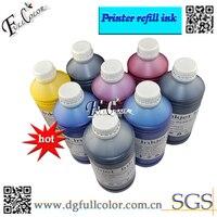 Yüksek Kaliteli Fotoğraf Pigment Mürekkep 500 ml Şişe Başına Stylus Photo R2000 Yazıcı Mürekkepleri Toplam 4L Ücretsiz sac