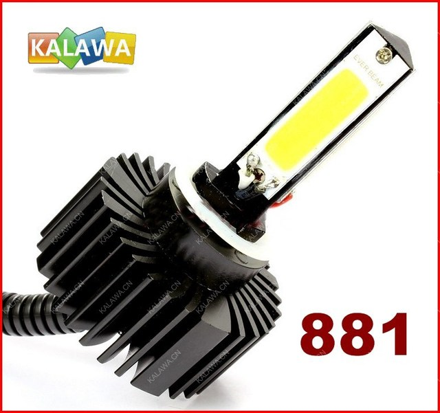 2014 New Arrival 2X High Power 881 30W LED COB Car Auto Fog lamp,light Super bright Headlight FREESHIPPING GGG