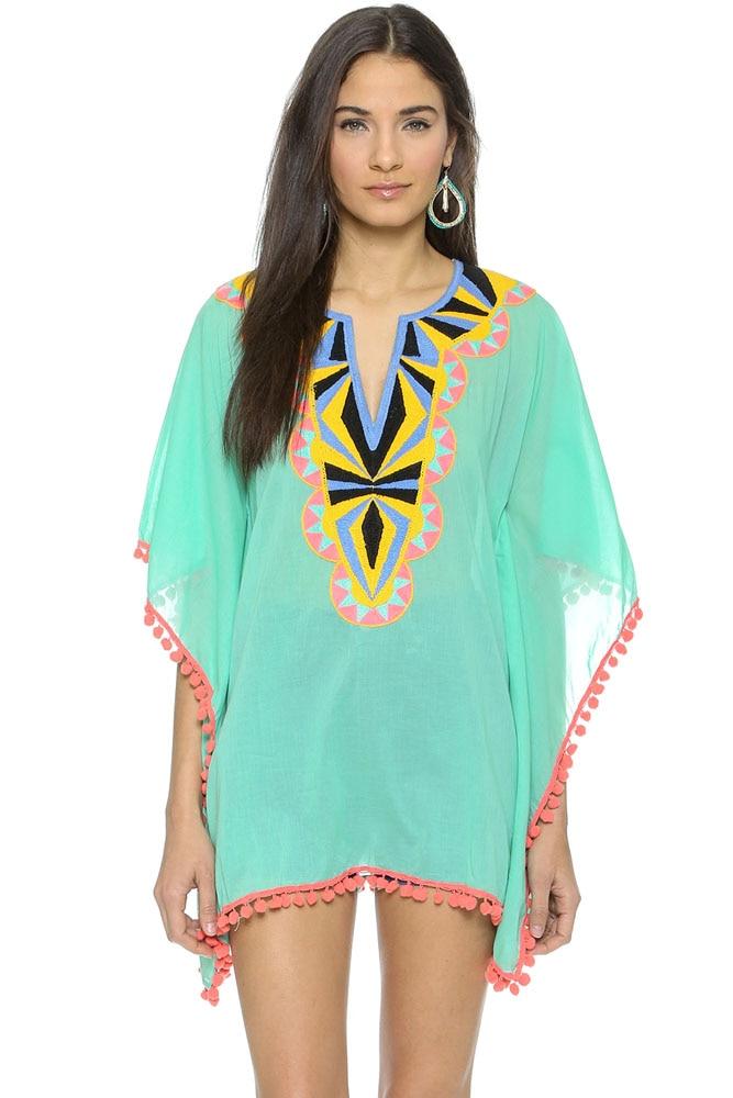 Online Buy Wholesale Beach Kaftans Tunics From China Beach
