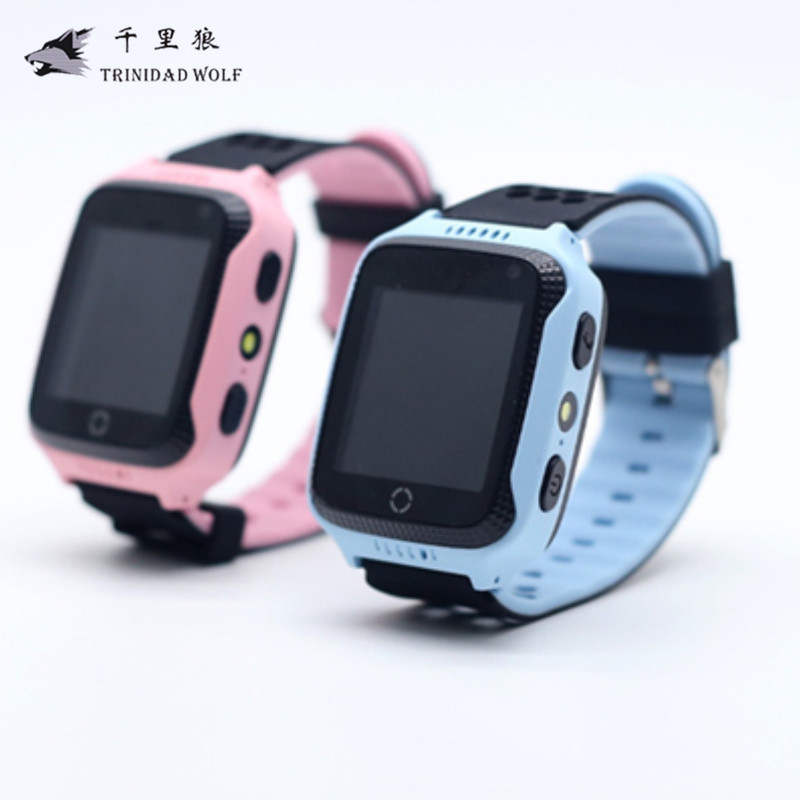 Touch Screen Anti Lost Watch For Kids With Camera Flashlight For Apple Android Phone GPS Watch Children Smart Anti-Lost Alarm