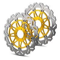 Мотоцикл ротор дисковых передних тормозов для Бенелли Ducati Moto Guzzi Yamaha Aprilia CAPONORD 1200 APONORD 750 ABS 900 завод