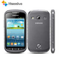 S7710 Original Samsung Xcover 2 S7710 1700mAh 5MP GPS WIFI 4.0 Touchscreen Cellphone Unlocked Refurbished Free shipping