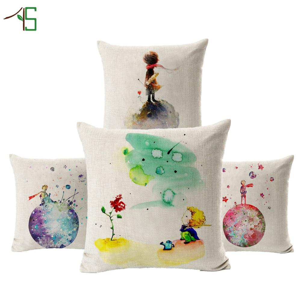 online buy wholesale throw pillows kids from china throw pillows  - hot sale cute kids cartoon cushion boy throw pillows case polyester cottonlinen pillowcase cojines capa