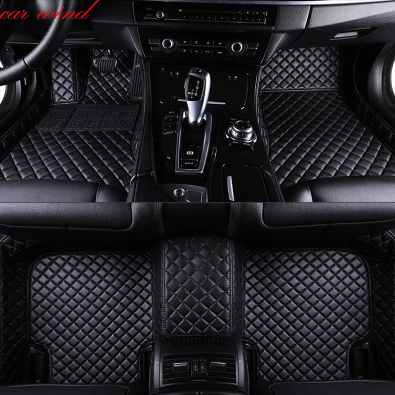Interior Accessories Floor Mats Car Accessories Styling Universal Car Floor Mat For Tesla Model S Model X Dodge Charger Caravan Caliber Avenger Journey Attractive Appearance