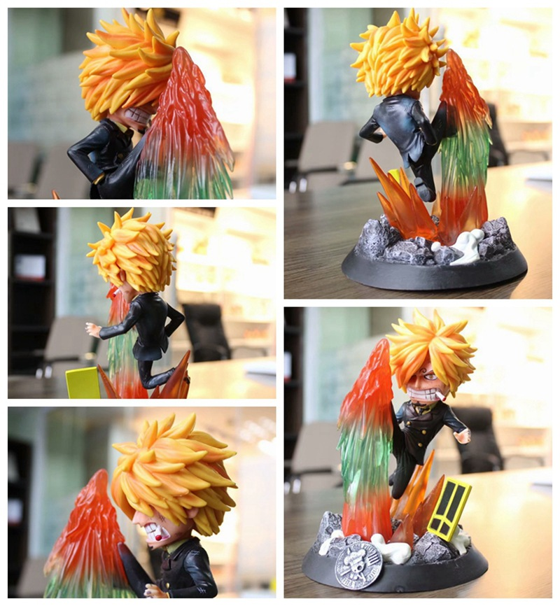 One Piece Diable Jambe Ver. Sanji Action Figure 1/8 scale painted figure Statue Fighting Ver. Sanji PVC figure Toy BrinquedosOne Piece Diable Jambe Ver. Sanji Action Figure 1/8 scale painted figure Statue Fighting Ver. Sanji PVC figure Toy Brinquedos