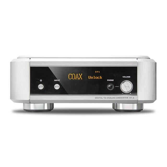 Shanling HiFi H1.2 DSD 1bit/2.8 МГц/1bit/5.6 МГц USB DAC усилитель Для Наушников